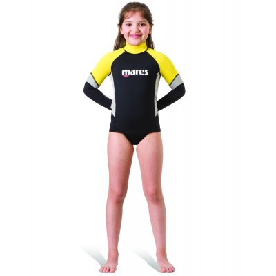 Tričko RASH GUARD L/S UPF BLOCK+80 JUNIOR