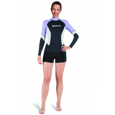 Tričko RASH GUARD L/S UPF BLOCK+80 SHE DIVES