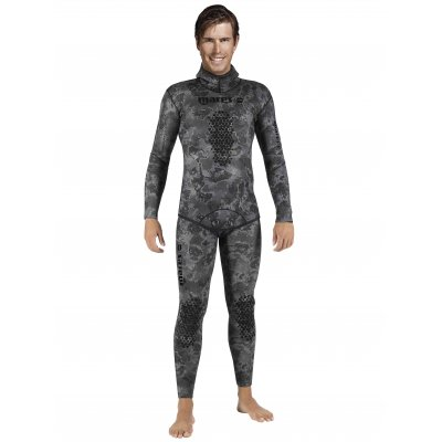 Oblek na spearfishing EXPLORER CAMO BLACK 30 (Open Cell)