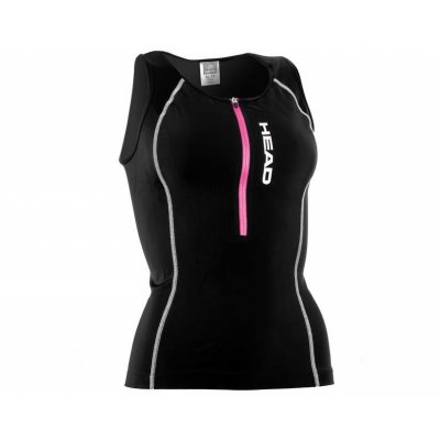Tričko HEAD TRI TOP ZIP- LADY