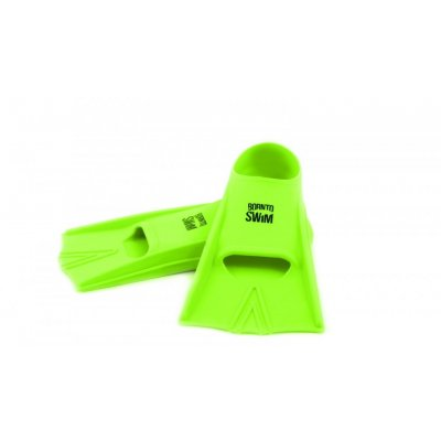 Detské plutvy Silicone Short Training Fins - HAPPY